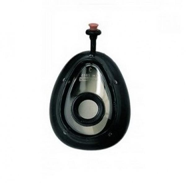Weinmann Beatmungsmaske mit Luftwulst aus Silikon Jugendliche | Größe: 3