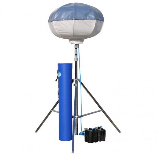 POWERMOON® Twinlight - Leuchtmittel 2 x 1000 W HQI - mit Kugelkopf oder Adapterhülse und PVC Transpo