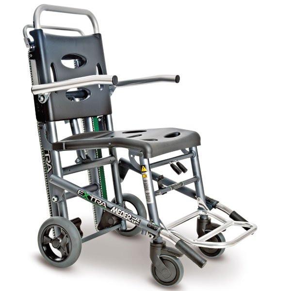 MEBER® Evakuierungsstuhl mit Raupensystem und Armlehnen | Typ EXTRA 670