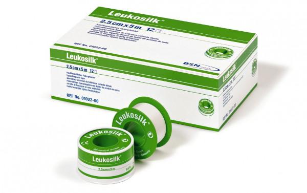 BSN medical Leukosilk® Rollenpflaster | Größe: 1,25 cm x 5 m