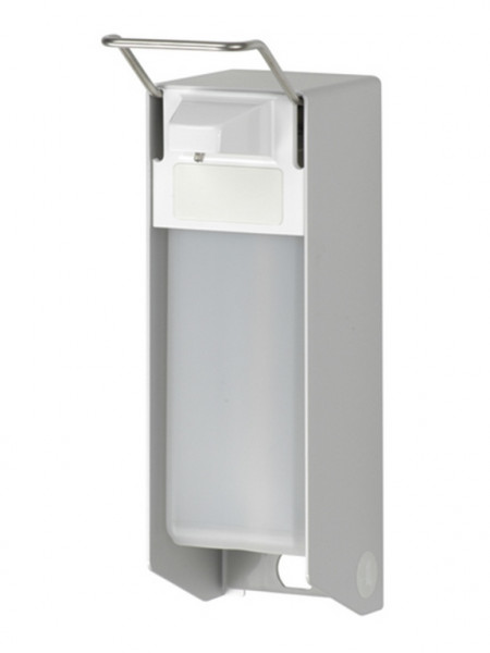 ingo-man® Aluminium Universalspender kurzer Armhebel | Pumpe: Edelstahl | 1000 ml