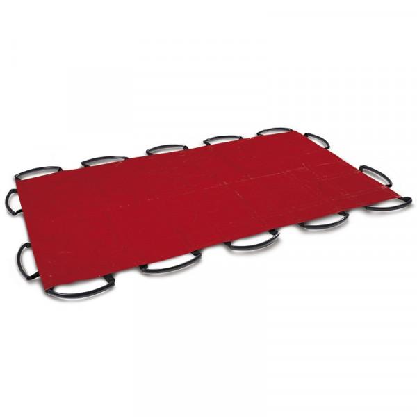 PAX® Rettungstuch / Tragetuch XL mit Gewichtsangabe | Material: PAX®-Plan | Farbe: Rot