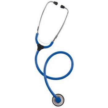 KaWe COLORSCOP® Plano Stethoskop mit Namensschild - Farbe: Blau