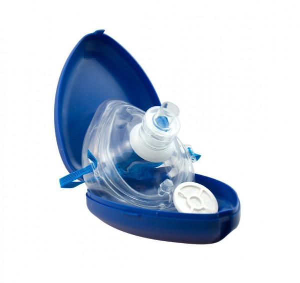 AERObag® PMB Taschenmaske / Taschenbeatmungsmaske | Farbe: Blau