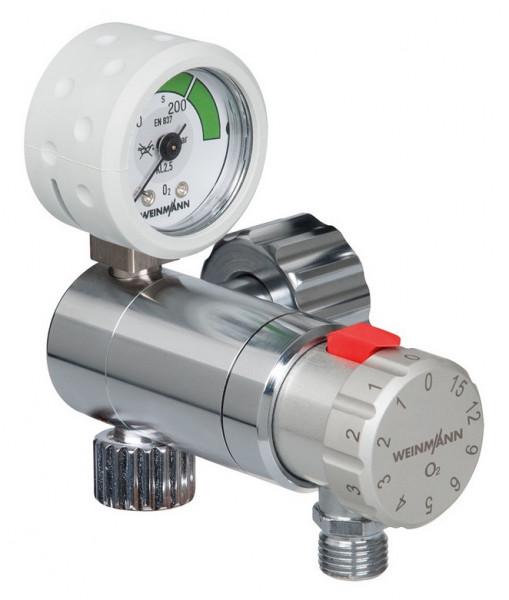 Weinmann OXYWAY Fast II Sauerstoff Druckminderer   Anschlussbolzen: 30 mm