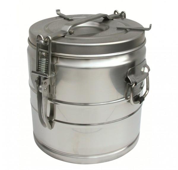 MeierMed Speisenbehälter - Edelstahl Rostfrei - Inhalt: 25 Liter