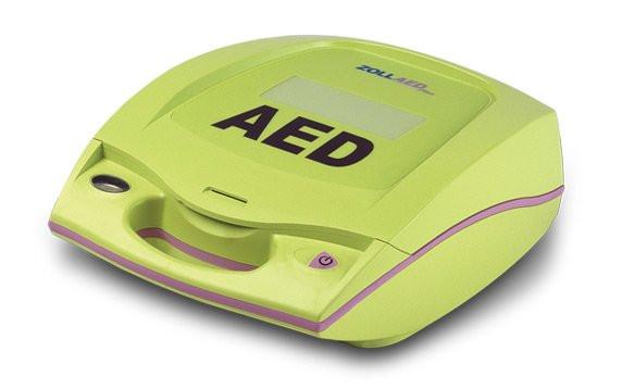ZOLL® AED Plus® mit Display - mit Sprachaufzeichnung