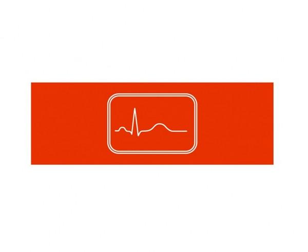 Weinmann Aufkleber Normsymbol | Ausführung: EKG