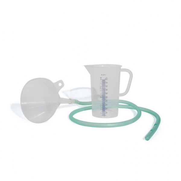 MeierMed Magenspülset mit 1 Liter Messbecher und Magenschlauch CH 42