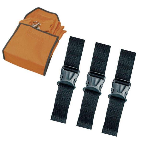 Lifeguard® 3-er Gurtsatz mit Tasche