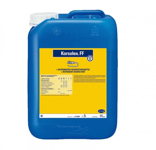 BODE Korsolex® FF Instrumenten-Desinfektionsmittel | 5 Liter Kanister
