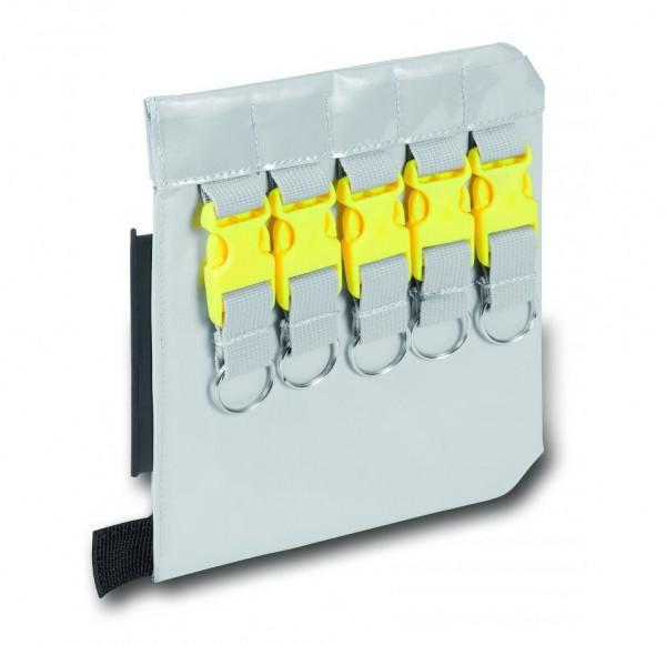 PAX® Schlüsseltaschen Erweiterung 10 | Material: PAX®-Plan | Farbe: Grau