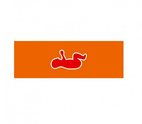 Weinmann Aufkleber Normsymbol   Ausführung: Säugling rot