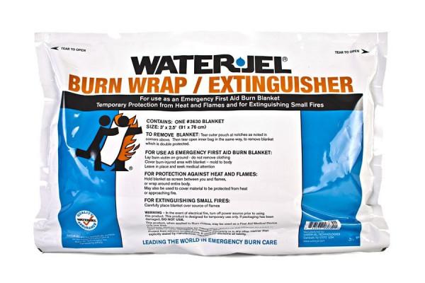Water Jel® HA First Responder Rettungsdecke | steril | 91 cm x 76 cm