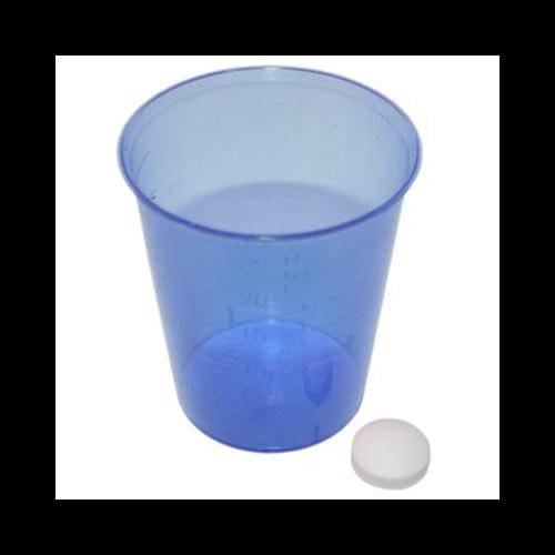 MeierMed Einnehmebecher - Farbe: Blau - Packung á 2400 Stück