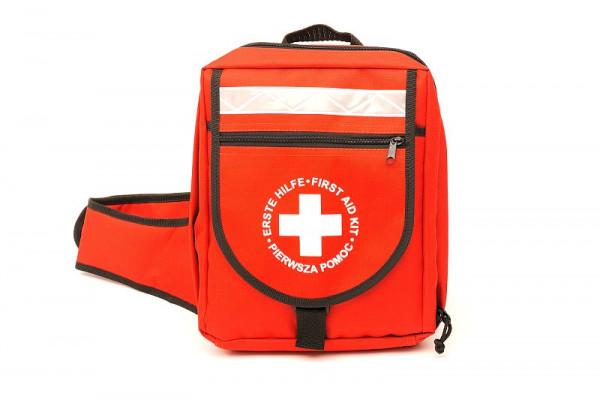 LEINA WERKE Erste-Hilfe Notfallrucksack mit Füllung DIN 13169