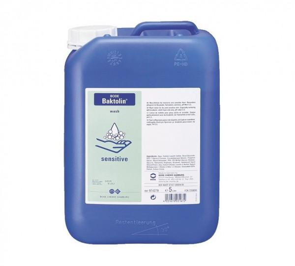 BODE Baktolin® sensitive | Waschlotion / Seife | 5 Liter Kanister