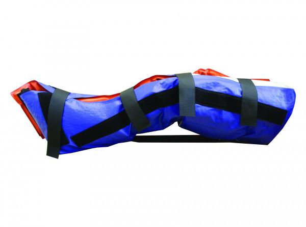 Schnitzler® 703B Vakuum-Beinschiene mit Kniefixiergurt | Mehrkammer | Ausführung: Erwachsene