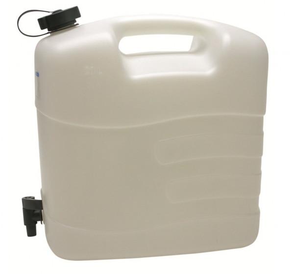 MeierTec Wasserkanister mit Auslaufhahn - Inhalt: 20 Liter