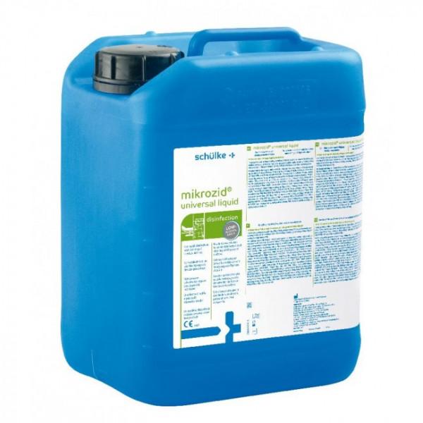schülke mikrozid® universal liquid Schnelldesinfektion | 5 Liter Kanister