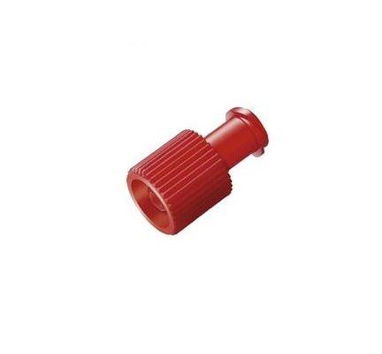 ASID BONZ Kombi-Stopfen / Verschlusskappen   Farbe: Rot   Packung á 1 Stück