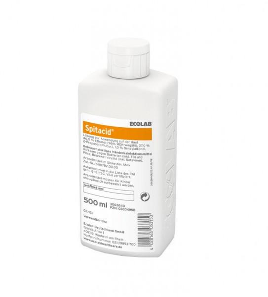 ECOLAB Spitacid™ Händedesinfektion   500 ml Flasche