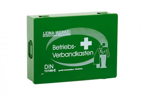 LEINA WERKE Betriebsverbandkasten Groß | DIN 13169 | Farbe: Grün