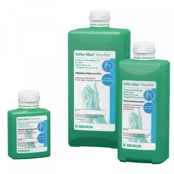 B. Braun Softa-Man® ViscoRub Händedesinfektionsmittel | 100 ml Taschenflasche