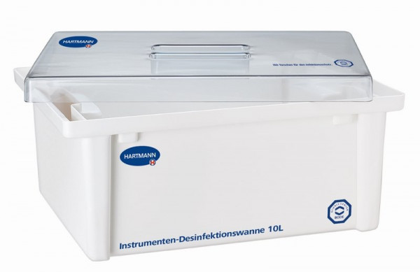 BODE Desinfektionswanne / Instrumentenwanne | 10 Liter | Maße: 39 x 29 x 17 cm