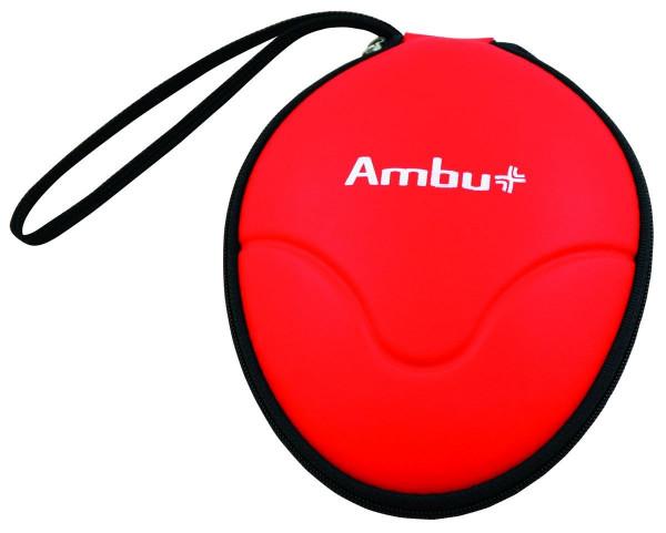 Ambu® Res-Cue® Taschenmaske im Softcase - Farbe: Rot