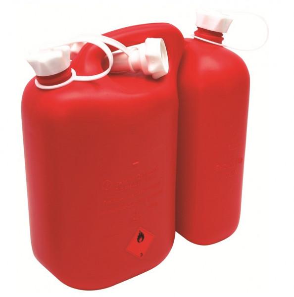 MeierTec Doppel-Kanister für Kraftstoff / Gemisch   Volumen: 5,5 + 3 l