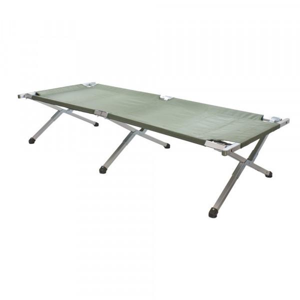 MeierMed Feldbett aus Aluminium - Maße: 210 x 89 x 52 cm - Markenfabrikat - Belastbarkeit: 150 kg