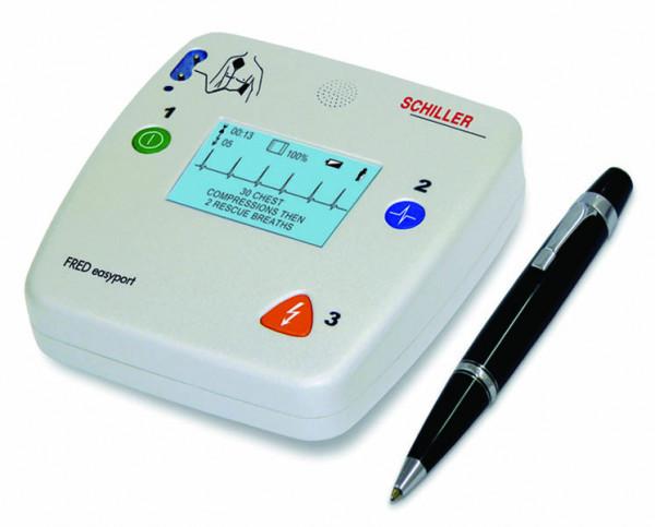 SCHILLER® AED Defibrillator - FRED easyport®