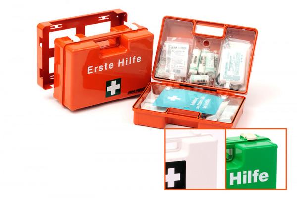 LEINA WERKE Erste-Hilfe-Koffer | QUICK | mit Füllung DIN 13157 | Farbauswahl