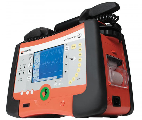 Primedic™ DefiMonitor XD300 - 6-Kanal AED - Manuell - SPO2