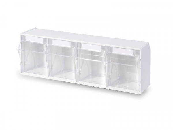 STALA Spritzenspender / Kanülenspender - 4-fach - Farbe: Weiß