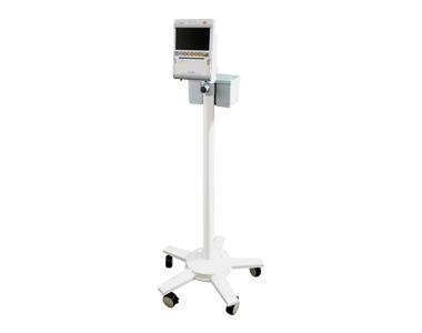 medical ECONET 5-Fuß-Rollstativ mit Korb für Fetalmonitor Insight lite D / S