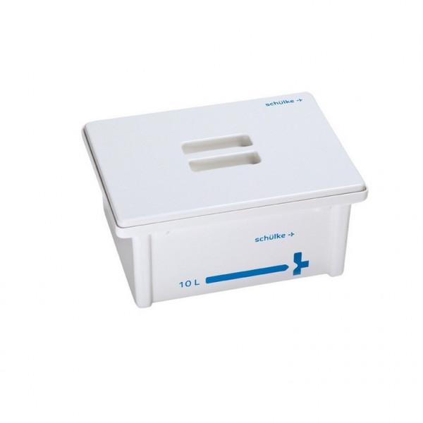 schülke Desinfektionswanne / Instrumentenwanne | Inhalt: 10 Liter | Deckel: Weiß