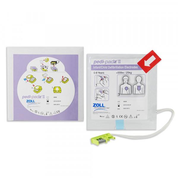 ZOLL® Defibrillationselektroden AED PLUS - pedi-padz II - Kinder