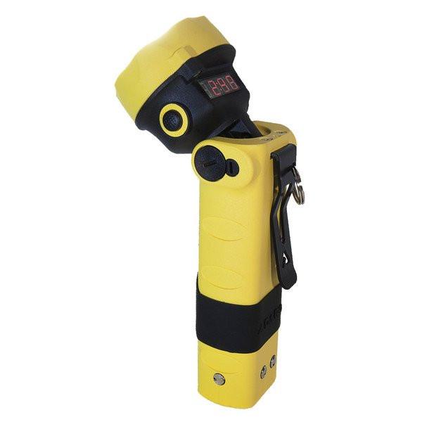 ADALIT® Sicherheitshandlampe / Handleuchte - L-3000 ATEX mit LED - Farbe: Gelb