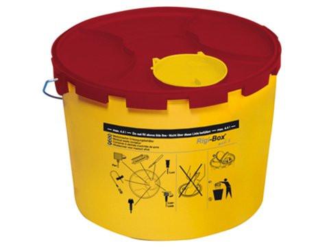 Sarstedt Multi-Safe medi 6 Kanülen-Entsorgungsbox / Abwurfbox   Volumen: 5,1 Liter