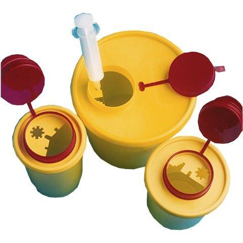 Sarstedt Multi-Safe quick Kanülen-Entsorgungsbox / Abwurfbox | Volumen: 0,5 Liter