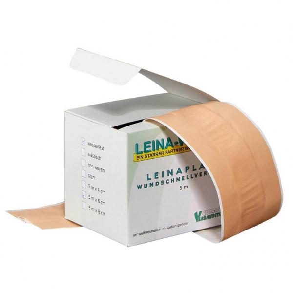 LEINA WERKE Wundschnellverband | elastisch | Größe: 4 cm x 5 m
