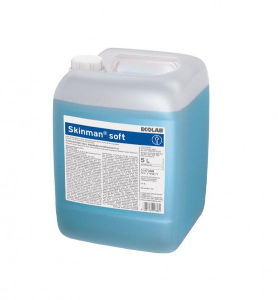 ECOLAB Skinman™ soft Händedesinfektion   5 Liter Kanister