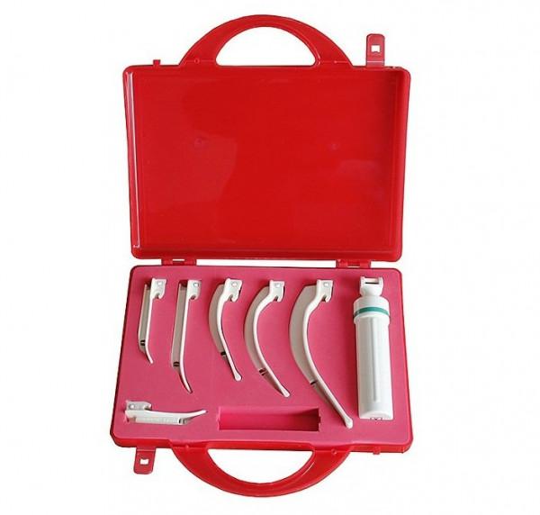 AEROtube® Laryngoskop Set - Kaltlicht - Einweg - mit Aufbewahrungsbox