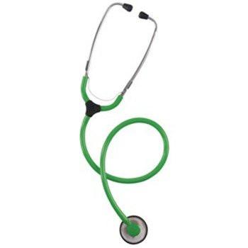KaWe COLORSCOP® Plano Stethoskop mit Namensschild - Farbe: Grün
