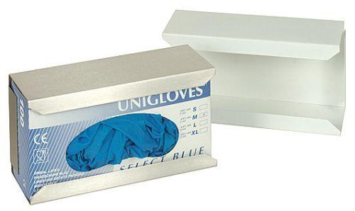 MeierMed Wandhalter für Handschuhe - Metall - Farbe: weiß
