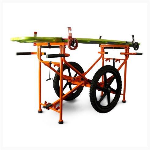 FLAMOR S.R.L Krankentragen-Fahrgestell Carrier EL 2000   Farbe: Orange