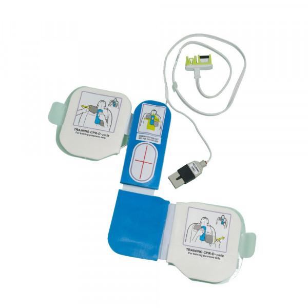 ZOLL® AED-Plus® Trainings-Elektrode / Demo-Elektrode - CPR-D mit Herzdrucksensor