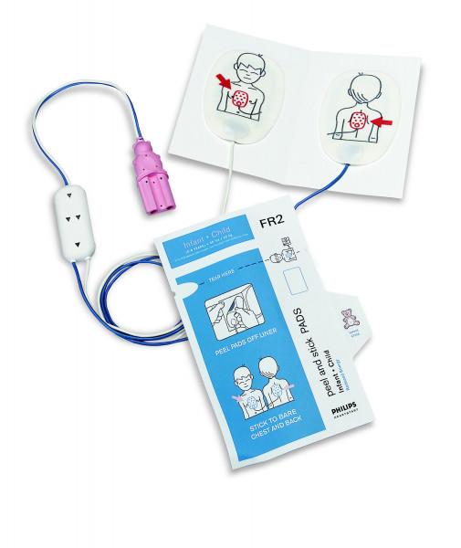 PHILIPS Defibrillationselektroden FR2 für Kinder   1 Paar